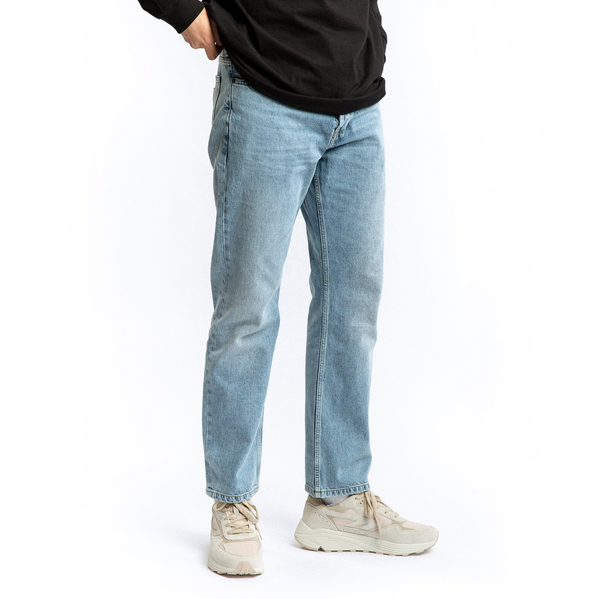 Jeans - Relaxed fit - Denim